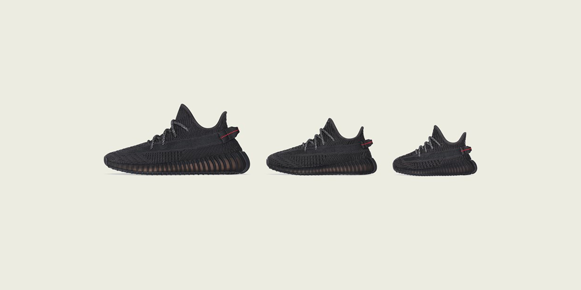 "YEEZY BOOST 350 V2 ""Black"" Restocks Black Friday"