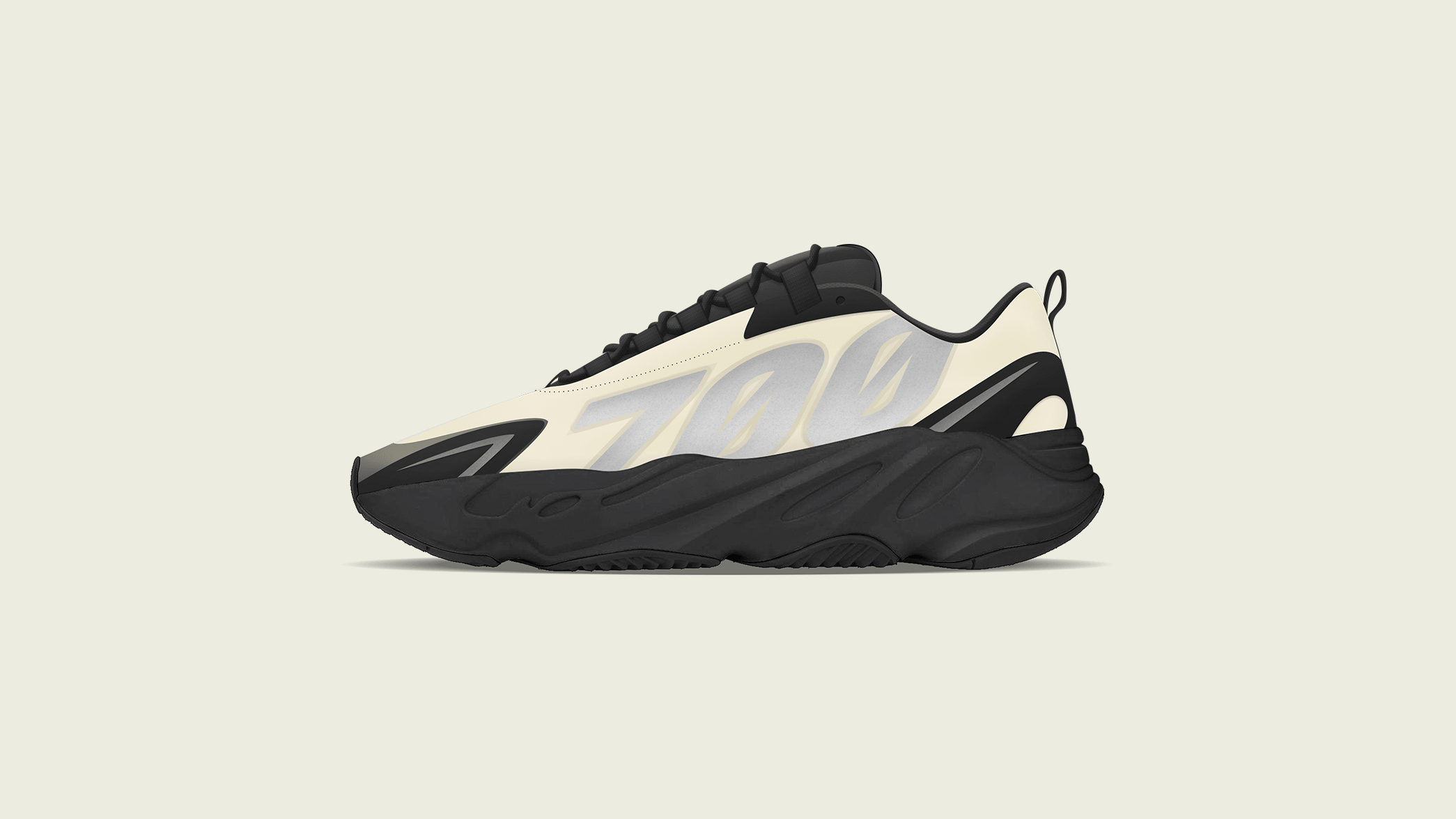 "YEEZY BOOST 700 MNVN ""Bone"" Revealed"
