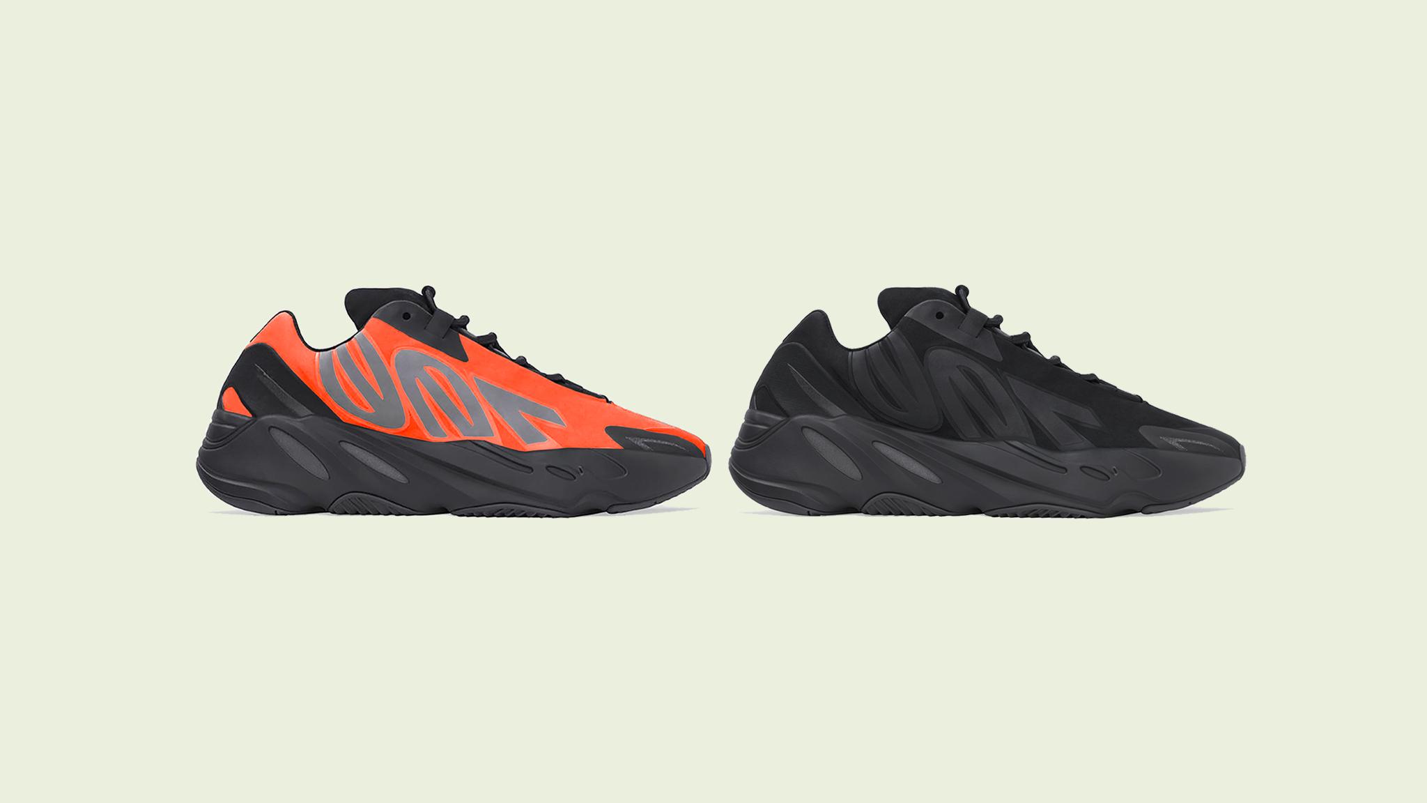 "700 MNVN ""Orange"" & ""Triple Black"" Release Date"