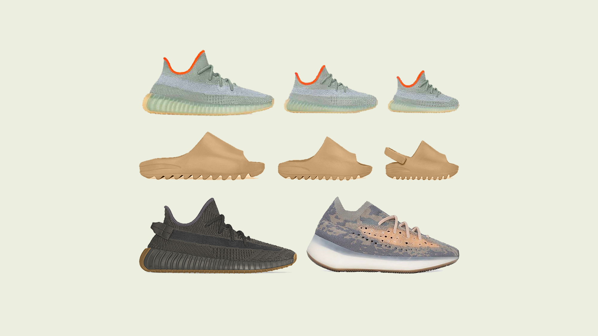YEEZY March 2020 Line Up & Release Dates