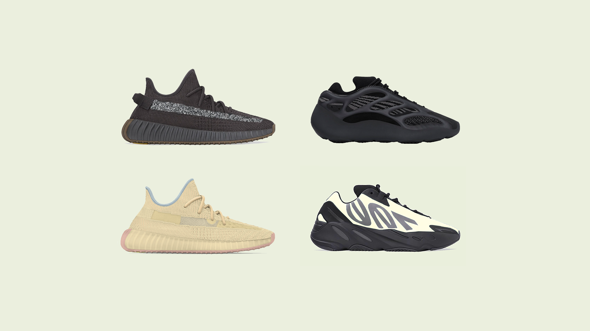YEEZY April 2020 Line Up & Releases Dates