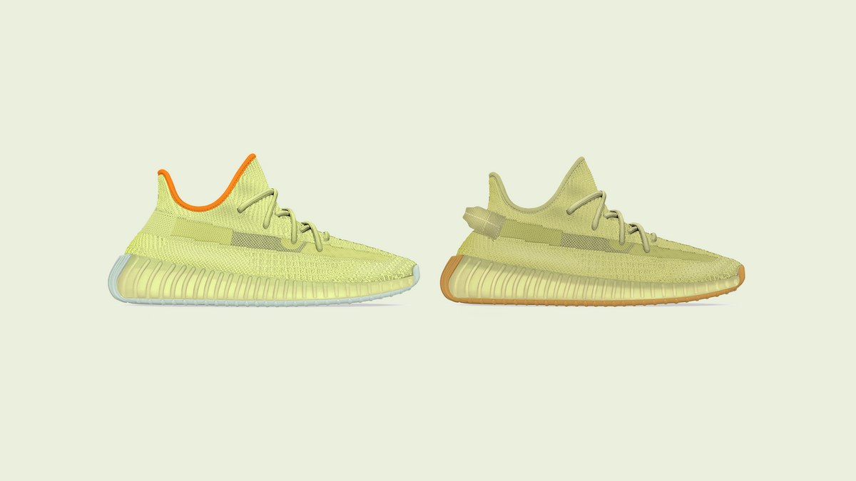 "YEEZY BOOST 350 V2 ""Marsh"" and ""Sulfur"" Revealed"