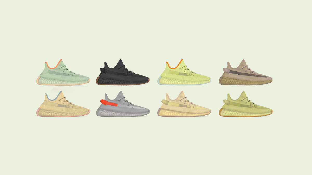 YEEZY BOOST 350 V2 Spring 2020 Lineup