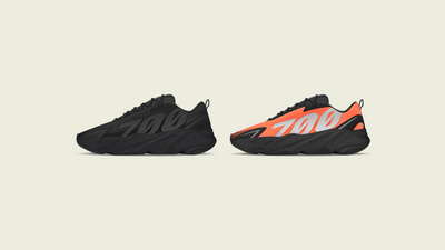 "YEEZY BOOST 700 MNVN ""Triple Black"" & ""Orange"" Revealed"