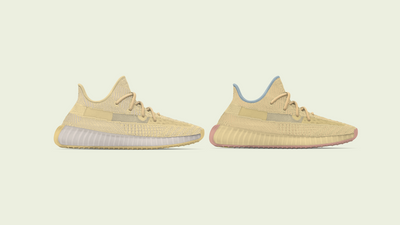 "YEEZY BOOST 350 V2 ""Flax"" and ""Linen"" Revealed"