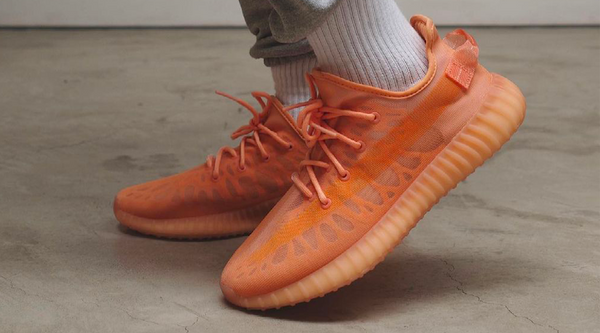 "On feet look at the YEEZY BOOST 350 V2 Mono ""Clay"""